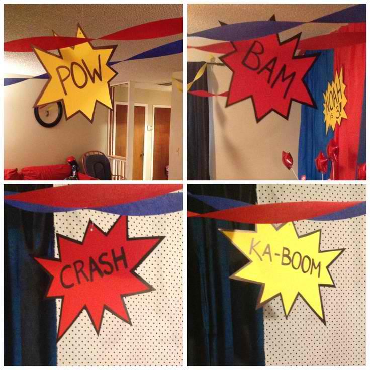 Superman Bathroom Decor: Have A Superhero Birthday Bash!