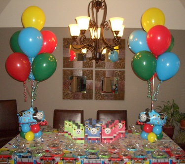 Inflating the excitement at your party with balloons for Balloon decoration for kids party